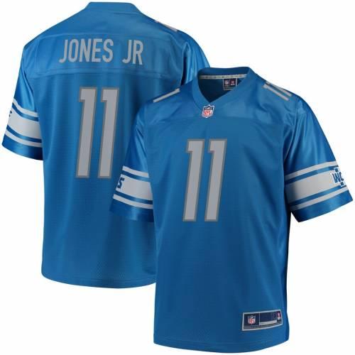 アメリカンフットボール, ウェア NFL PRO LINE TEAM MARVIN JONES JR DETROIT LIONS COLOR PLAYER JERSEY BLUE