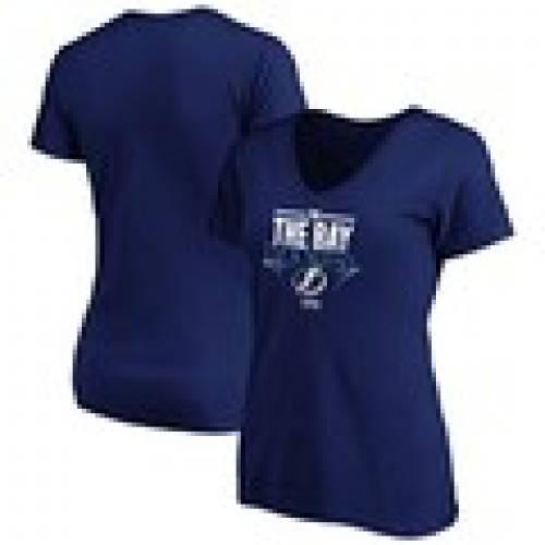 トップス, Tシャツ・カットソー  FANATICS BRANDED V T WOMENS FANATICS BRANDED 2020 STANLEY CUP FINAL BOUND HOME ICE VNECK TSHIRT ROYAL T