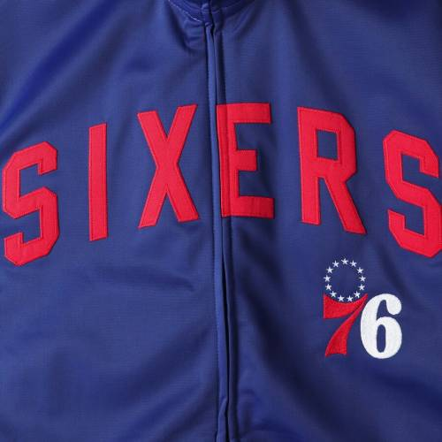 G-III SPORTS BY CARL BANKS フィラデルフィア セブンティシクサーズ トラック メンズファッション コート ジャケット メンズ 【 Philadelphia 76ers Assist Full-zip Tricot Track Jacket - Royal 】 Royal