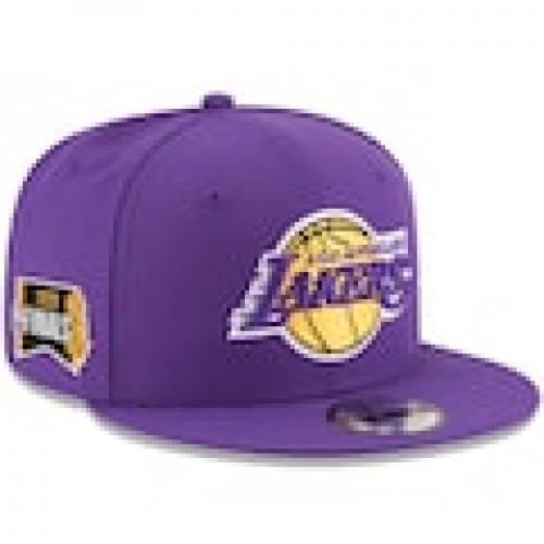メンズ帽子, その他  NEW ERA LAKERS SNAPBACK PURPLE 2020 NBA FINALS BOUND SIDE PATCH 9FIFTY ADJUSTABLE HAT