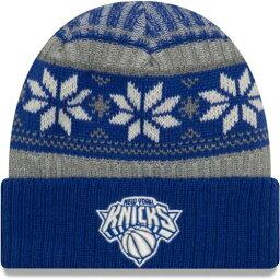 ニューエラ NEW ERA エラ ニックス ビンテージ ヴィンテージ ニット 青色 ブルー ニューエラ ニューヨーク 【 VINTAGE KNIT CUFFED HAT BLUE 】 バッグ キャップ 帽子 メンズキャップ 帽子