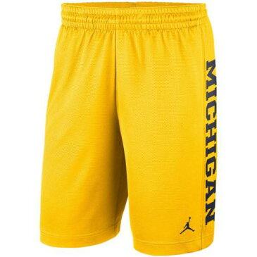 JORDAN BRAND ミシガン ライズ ショーツ ハーフパンツ メンズファッション ズボン パンツ メンズ 【 Michigan Wolverines Rise Od Shorts - Maize 】 Maize