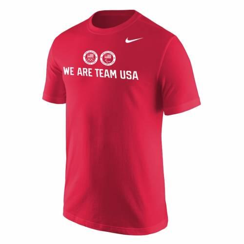 ナイキ NIKE チーム Tシャツ 赤 レッド 【 TEAM RED NIKE WE ARE USA TSHIRT 】 メンズファッション トップス Tシャツ カットソー