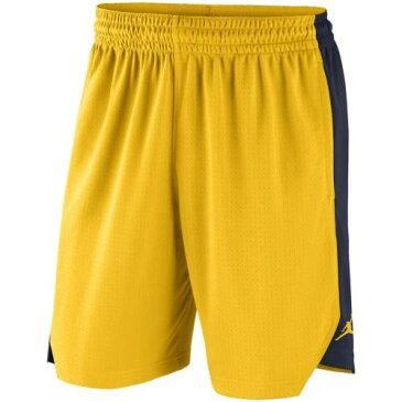 ナイキ NIKE ミシガン プラクティス パフォーマンス ショーツ ハーフパンツ メンズファッション ズボン パンツ メンズ 【 Michigan Wolverines Jordan Brand Practice Performance Shorts - Maize 】 Maize