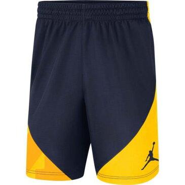 JORDAN BRAND ミシガン パフォーマンス ショーツ ハーフパンツ 紺 ネイビー メンズファッション ズボン パンツ メンズ 【 Michigan Wolverines Hbr Performance Shorts - Navy 】 Navy