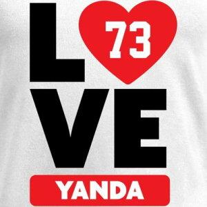 NFL PRO LINE BY FANATICS BRANDED レディース ブイネック Tシャツ 白 ホワイト レディースファッション トップス カットソー 【 Marshal Yanda Fanatics Branded Womens I Heart V-neck T-shirt - White 】 White