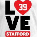 NFL PRO LINE BY FANATICS BRANDED レディース ブイネック Tシャツ WOMEN'S 【 DAIMION STAFFORD I HEART VNECK TSHIRT WHITE 】 レディースファッション トップス カットソー 送料無料