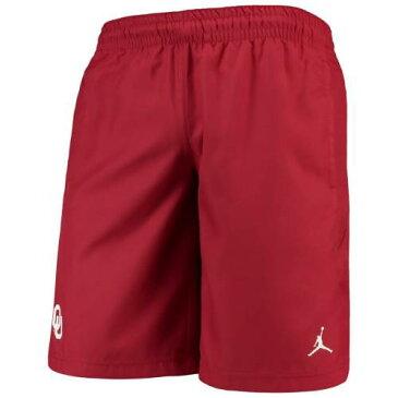 JORDAN BRAND アルファ パフォーマンス ショーツ ハーフパンツ メンズファッション ズボン パンツ メンズ 【 Oklahoma Sooners J 23 Alpha Performance Shorts - Crimson 】 Crimson