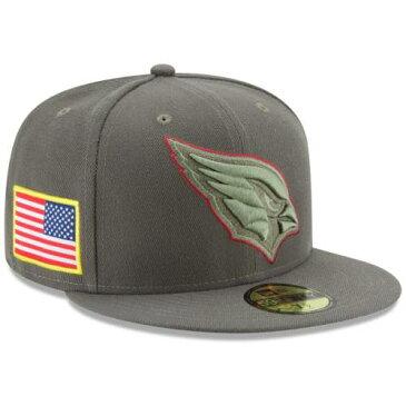 ニューエラ NEW ERA アリゾナ カーディナルス オリーブ バッグ キャップ 帽子 メンズキャップ メンズ 【 Arizona Cardinals 2017 Salute To Service 59fifty Fitted Hat - Olive 】 Olive