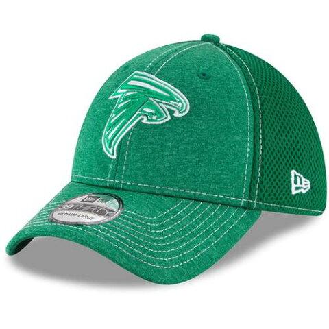 ニューエラ NEW ERA アトランタ ファルコンズ クラシック ネオ 緑 グリーン ST. PATRICK'S 【 GREEN NEW ERA ATLANTA FALCONS DAY CLASSIC SHADE NEO 39THIRTY FLEX HAT KELLY 】 バッグ キャップ 帽子 メンズキャッ