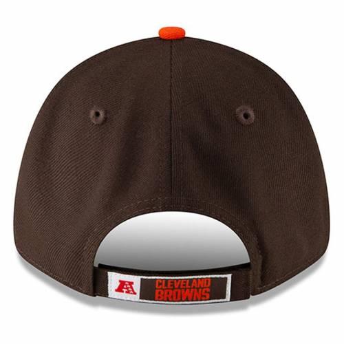 メンズ帽子, その他  NEW ERA ORANGE THE LEAGUE TWOTONE 9FORTY ADJUSTABLE HAT BROWN