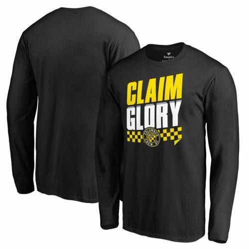 トップス, Tシャツ・カットソー FANATICS BRANDED T SLEEVE COLUMBUS CREW SC CLAIM GLORY LONG TSHIRT BLACK