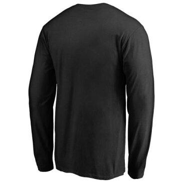 FANATICS BRANDED ジャイアンツ スリーブ Tシャツ 黒 ブラック 【 SLEEVE BLACK FANATICS BRANDED SAN FRANCISCO GIANTS MIDNIGHT MASCOT LONG TSHIRT 】 メンズファッション トップス Tシャツ カットソー
