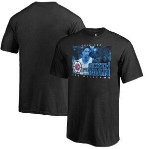 FANATICS BRANDED クリッパーズ 子供用 Tシャツ 黒 ブラック キッズ ベビー マタニティ トップス ジュニア 【 Lou Williams La Clippers Youth 2018 Nba 6th Man Of The Year T-shirt - Black 】 Black