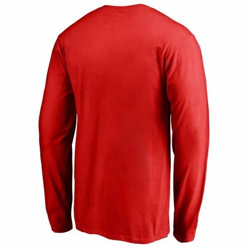 トップス, Tシャツ・カットソー  FANATICS BRANDED T RED SLEEVE FANATICS BRANDED PRIMARY LOGO TSHIRT T