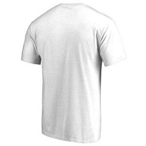 FANATICS BRANDED ロゴ Tシャツ 白 ホワイト & 【 WHITE FANATICS BRANDED NEW HAMPSHIRE WILDCATS BIG TALL PRIMARY LOGO TSHIRT 】 メンズファッション トップス Tシャツ カットソー