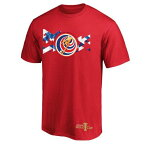 FANATICS BRANDED チーム 金色 ゴールド Tシャツ 赤 レッド 【 TEAM RED FANATICS BRANDED COSTA RICA NATIONAL 2019 CONCACAF GOLD CUP EVENT TSHIRT 】 メンズファッション トップス Tシャツ カットソー