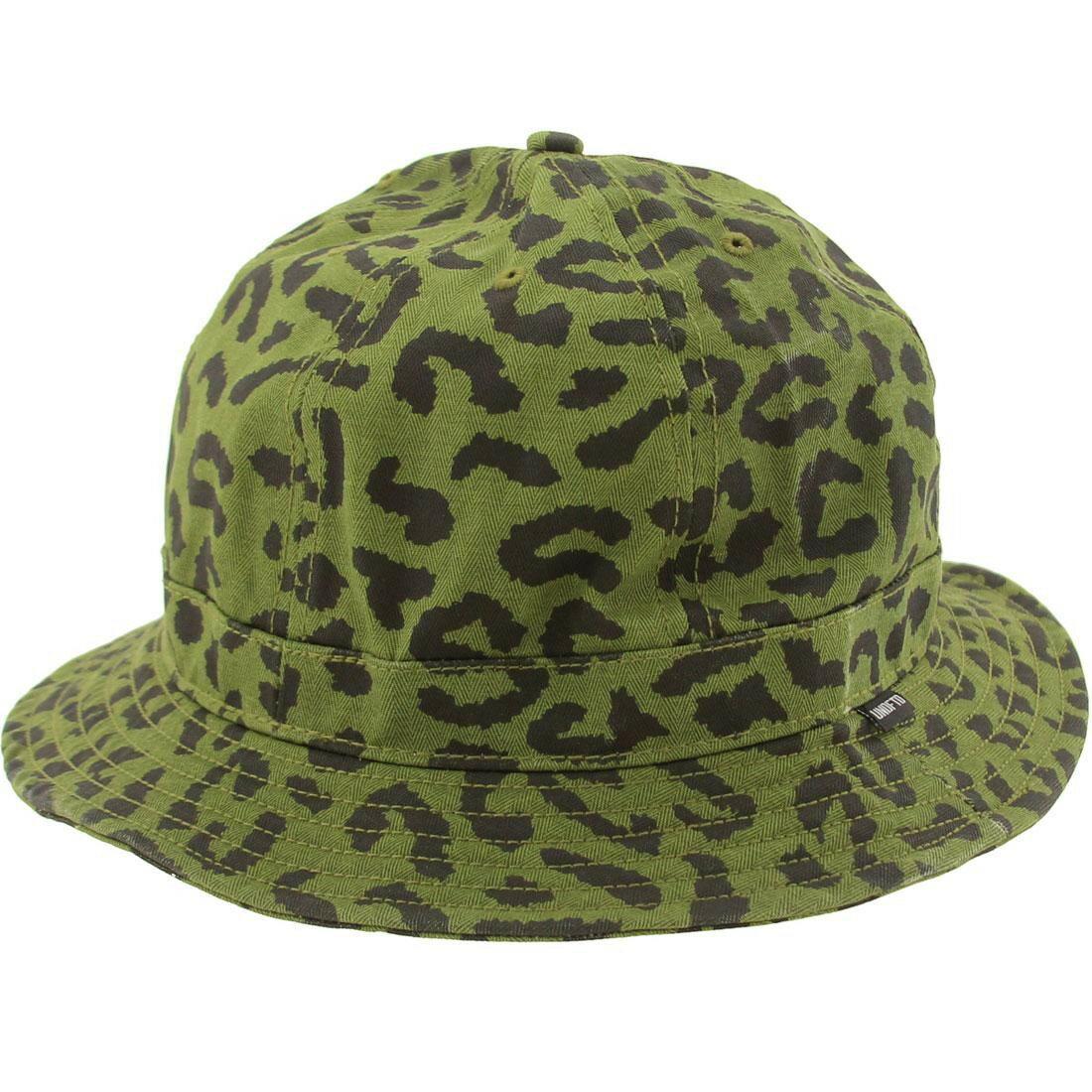 メンズ帽子, ハット  UNDEFEATED COMBAT NEW ERA FITTED BUCKET HAT OLIVE CAMO