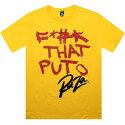 【海外限定】Tシャツ メンズファッション 【 RAZA F THAT PUTO TEE YELLOW 】