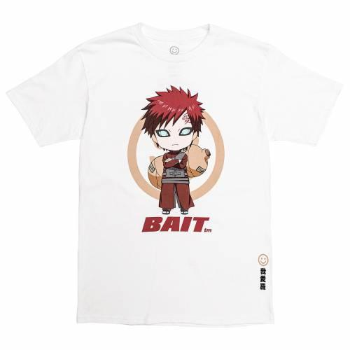 トップス, Tシャツ・カットソー  T BAIT X GOODSMILE NENDOROID NARUTO MEN GAARA CHIBI TEE WHITE