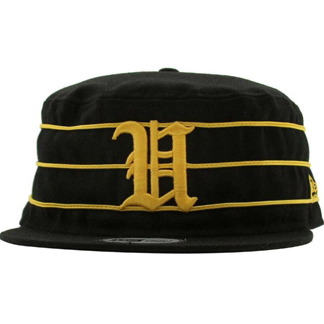 メンズ帽子, キャップ  UNDEFEATED TIGER U PILLBOX NEW ERA FITTED CAP BLACK