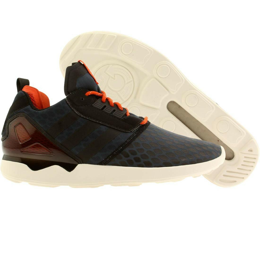 メンズ靴, スニーカー  ADIDAS Men Zx 8000 Boost (navy Midnight Core Black Collegiate Orange) Navy Midnight Core Black Collegiate Orange