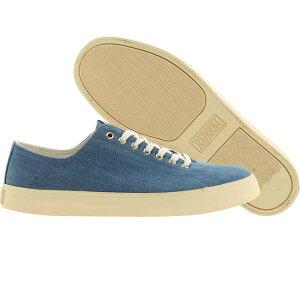 【海外限定】ランサム 靴 メンズ靴 【 RANSOM MEN STRATA BLUE STONE WASH DENIM 】