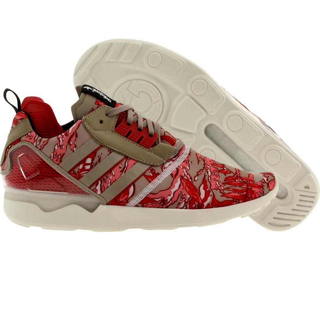 メンズ靴, スニーカー  RED ADIDAS MEN ZX 8000 BOOST PINK GRAY