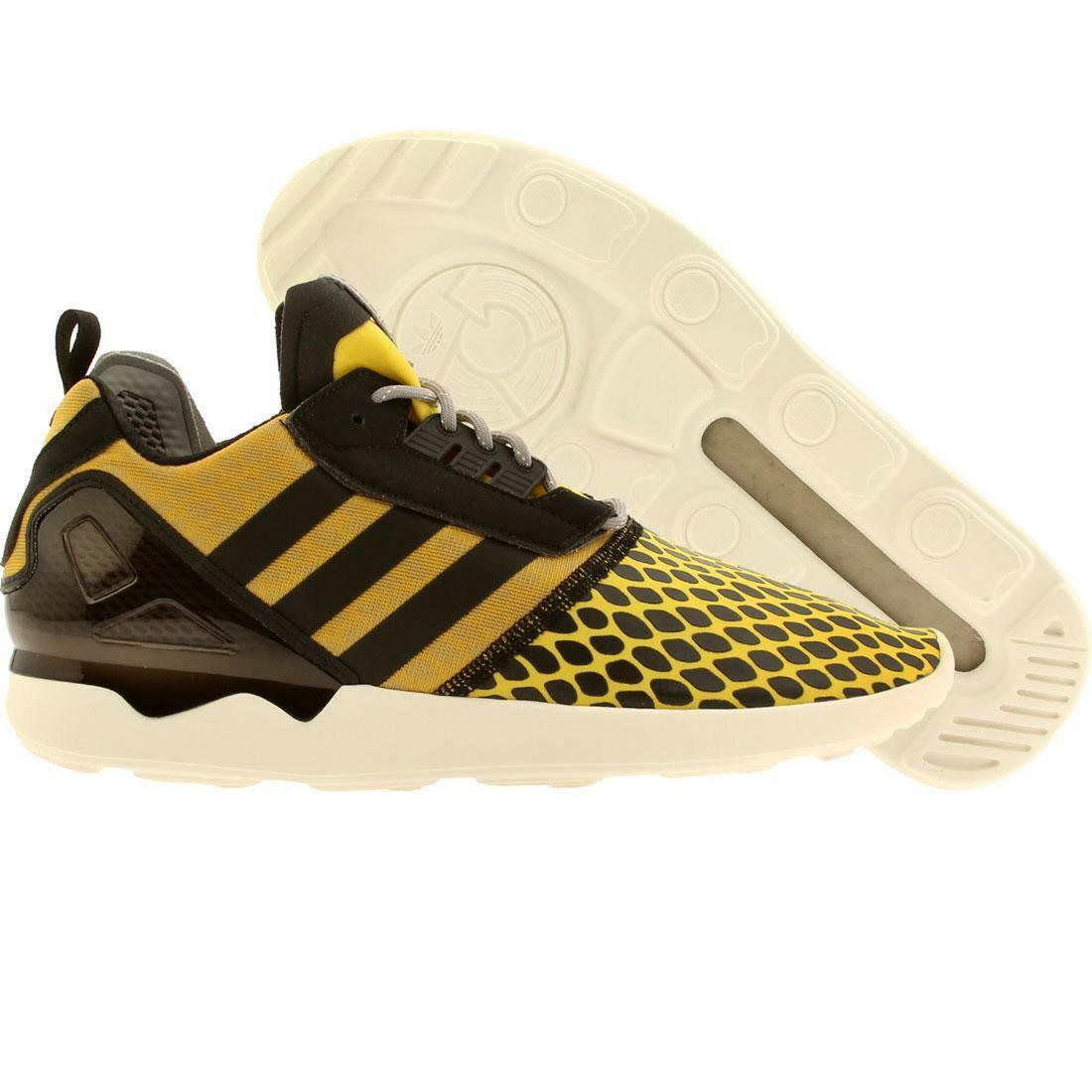 メンズ靴, スニーカー  YELLOW BLACK ADIDAS MEN ZX 8000 BOOST CORN SOLID GREY