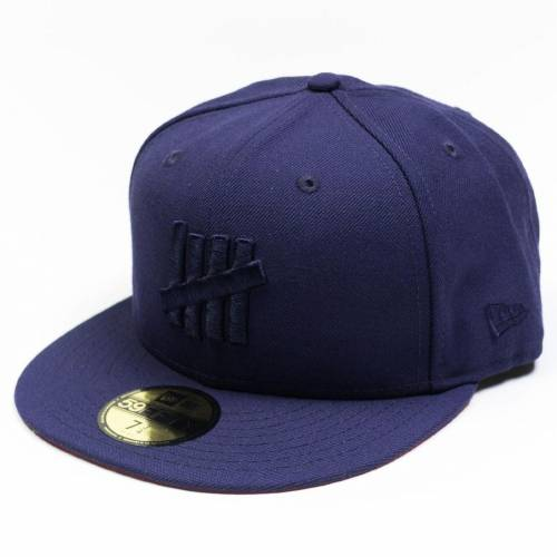 メンズ帽子, キャップ  UNDEFEATED UNDEFEATED X EJECT FITTED CAP NAVY