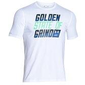 【ポイント2倍!5/1 9:59マデ】【送料無料】アンダーアーマー UNDER ARMOUR SC30 GOLDEN STATE ステイト OF GRIND T-SHIRT Tシャツ MENS メンズ WHITE 白・ホワイト ELECTRIC BLUE 青・ブルー ANTIFREEZE Tシャツ