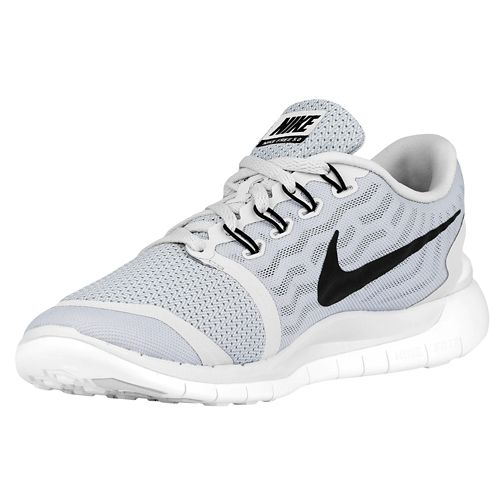 Nike Free 5.0+ Hommes Chaussures De Course Bleu  / Coffret Blanc