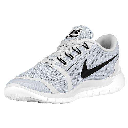 Blanc Et Gris Nike Free 5.0