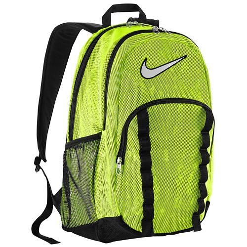 nike xl mesh backpack