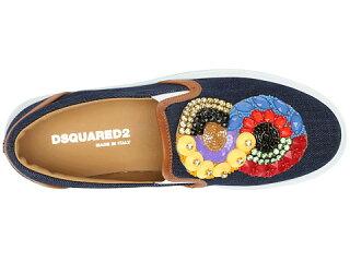 DSQUARED2EmbroideredSlip-onSneaker