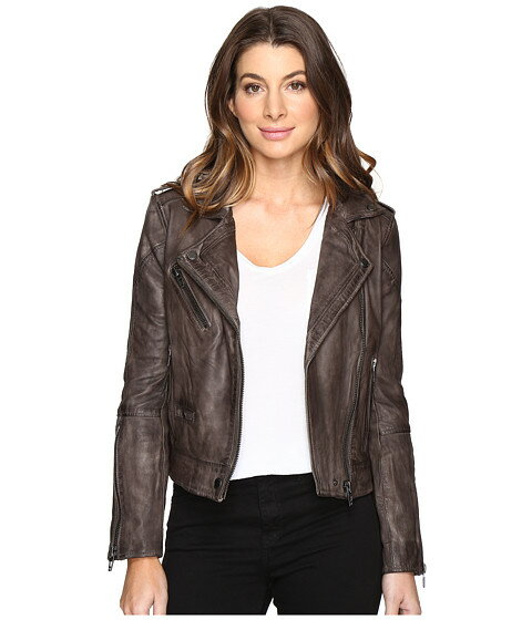 Blank NYC Real Leather Moto Jacket