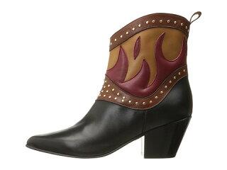 ショーツハーフパンツブーツjustcavallinappawithfiresshortbootsレディース靴靴