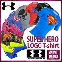 【3/27 9:59まで!ポイント2倍】【送料無料】【あす楽対象商品】★大人気スーパーヒーロー Tシャツ シリーズ★UNDER ARMOUR アンダーアーマー SUPER HERO LOGO ロゴ COMPRESSION コンプレッション TOP メンズ (44399401)アンダーアーマー Tシャツ UA tシャツ