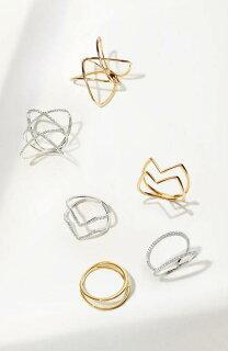 14kttwobarringバーリング指輪アクセサリージュエリーメンズジュエリー
