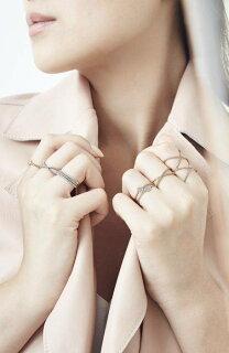 diamonddoublecrisscrossringダイヤモンドダブルリングジュエリーメンズジュエリーアクセサリー指輪