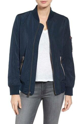 b285d20b0565 ウィメンズ・女性用 カジュアル/ファッション ジャケット/パーカー/ベスト levis ma1 satin bomber jacket levi's  サテン ボンバー ジ