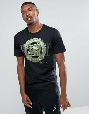 Nike Jordan Pure Money Bank Note T-Shirt Tシャツ In Black 84...