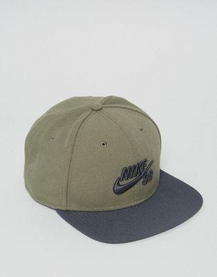 Nike SB Pro Cap In Khaki 628683-222