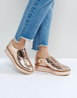 asosエイソスmacaroonマカロンflatformlaceレースupアップshoesシューズ運動靴靴レディース靴