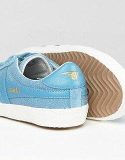 golaspecialisttrainersincrackledleatherbabyblueトレーナーゴーラ青インレザーベイビーブルースペシャリストレディース靴靴