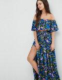 エイソスasosパンジーイントップフリルプリントビーチfrillbeachcoordtopinpansyprintレディースファッション
