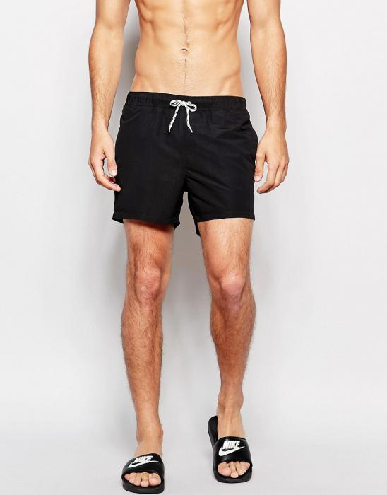 ASOSエイソスShortLengthSwimShortsショーツInBlack