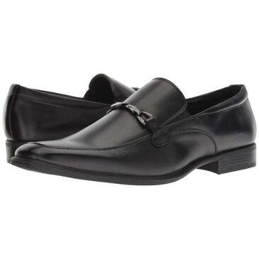 バン アルバート 黒 ブラック メンズ 男性用 靴 メンズ靴 ローファー 【 BLACK VAN HEUSEN ALBERT 】