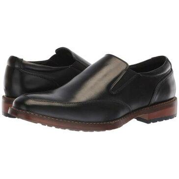 バン 黒 ブラック メンズ 男性用 メンズ靴 ローファー 靴 【 BLACK VAN HEUSEN GARY 】
