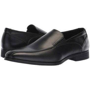 バン 黒 ブラック メンズ 男性用 メンズ靴 ローファー 靴 【 BLACK VAN HEUSEN TELLER 】